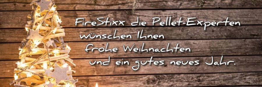 FireStixx die Pellet-Experten wünsche Ihnen frohe Weihnachten